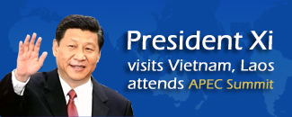Xi attends APEC, visits Vietnam and Laos