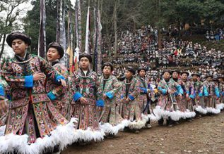 """Gu Zang"" festival celebrated in Guizhou"