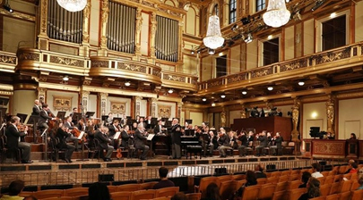 Vienna Philharmonic Orchestra holds first concert after COVID-19 lockdown