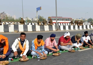 Indian farmers protest against new farm laws