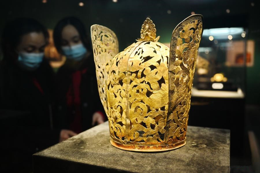 Exhibition of cultural relics from ancient China