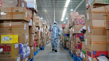 Logistics companies in Shijiazhuang strengthen disinfection measures