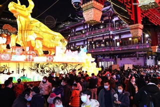 Shanghai records over 4.92 mln tourist visits during Lunar New Year holiday