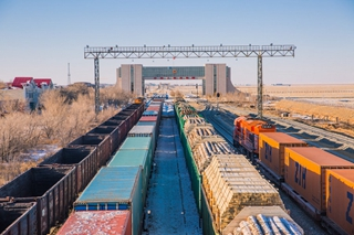 China-Mongolia border port sees increase in China-Europe freight trains