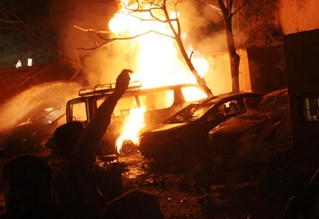 Hotel blast leaves 3 killed, 11 injured in SW Pakistan