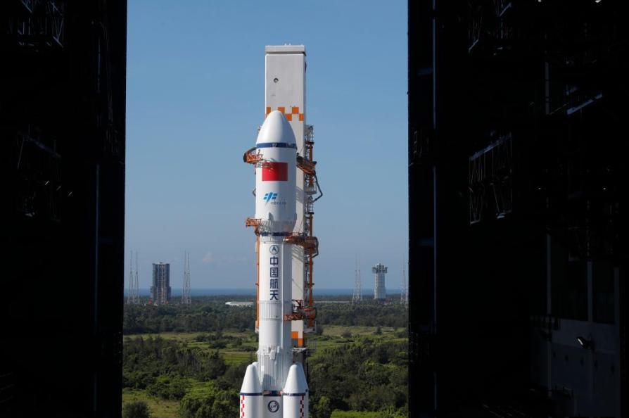 China prepares to launch Tianzhou-2 cargo spacecraft