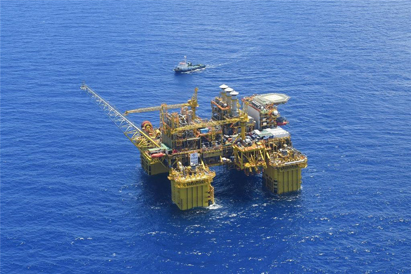 """""""Deep Sea No.1"""" energy station at gas field off S China"""