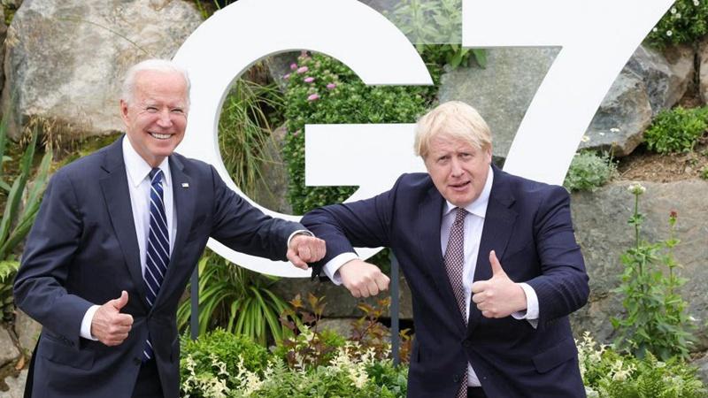 UK, US agree to work to reopen travel as Johnson, Biden meet