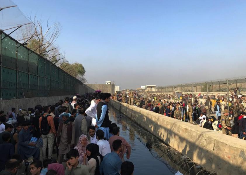 7 Afghan civilians killed amid chaos at Kabul airport: British ministry