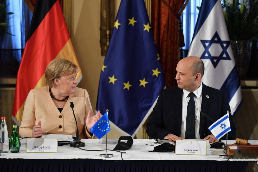Merkel says Israel