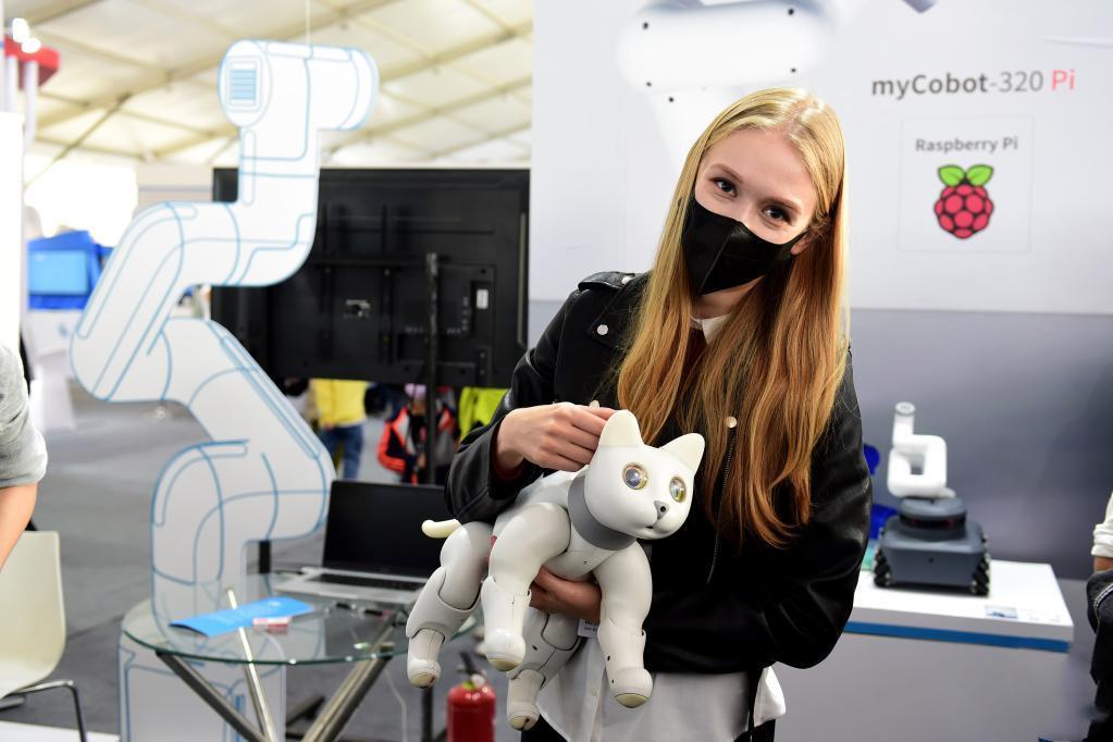 Ukrainian student experiences beauty of technology at World Voice Expo