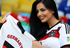 Stunning beauties in World Cup