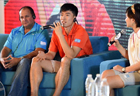 """""""Conversation with Champions"""" held at Nanjing 2014 Youth Olympic Villiage"""