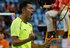 South Korea beats China to win Asian Games badminton men