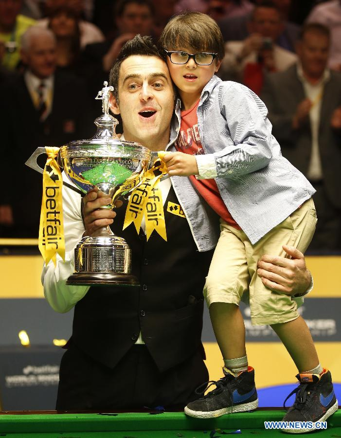 O'Sullivan wins his fifth World Snooker title