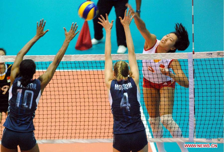 FIVB Women's U23: China beats United States 3-2