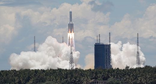 Mars mission launched in Hainan
