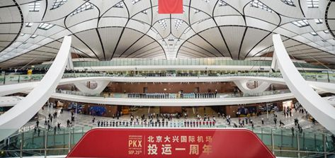 Beijing's Daxing airport marks one year of operation
