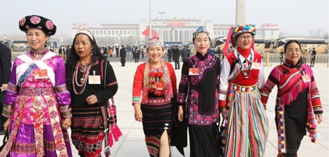 "Women shine at China's ""two sessions"""