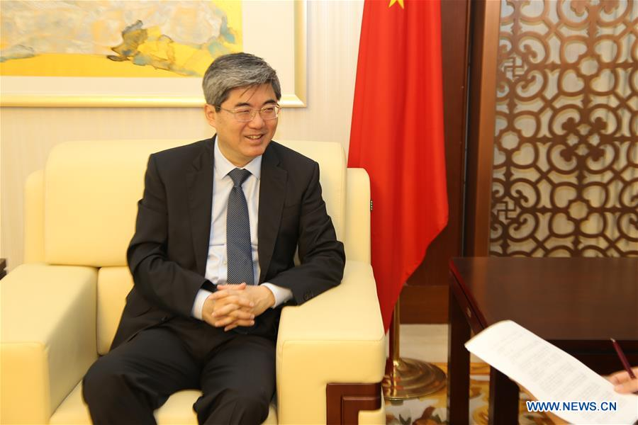 BULGARIA-SOFIA-CHINESE AMBASSADOR-INTERVIEW