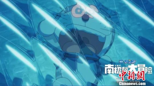 剧场版哆啦A梦首登南极将遭遇史上最大生死考验