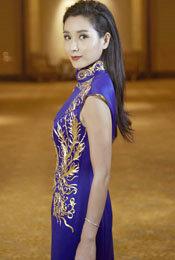 杨恭如旗袍大片高贵优雅 尽显东方女性魅力