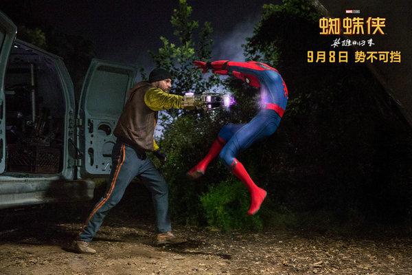 《蜘蛛侠:英雄归来》刷新该系列内地票房纪录