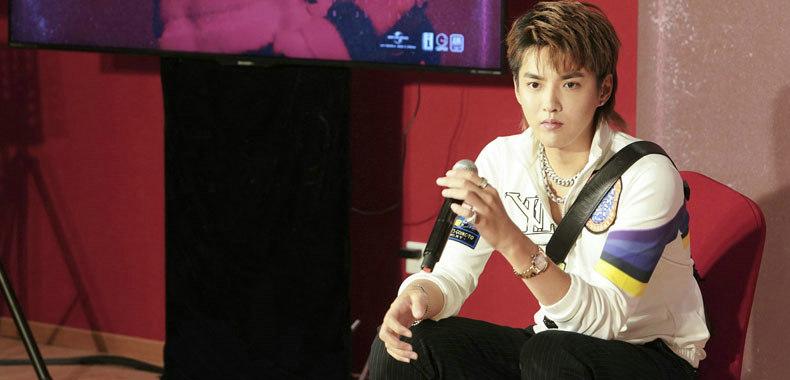 吴亦凡在京举办首张专辑试听会 《Antares》即将预售