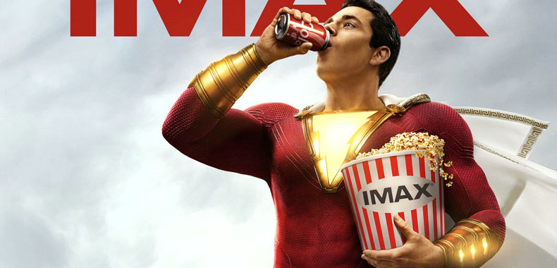 DC超级英雄大片《雷霆沙赞!》发布IMAX专属海报