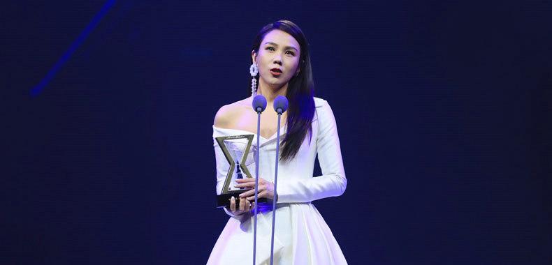 千亿国际qy8TOP排行榜2018年度颁奖晚会在京举办 蔡健雅获年度最佳女歌手