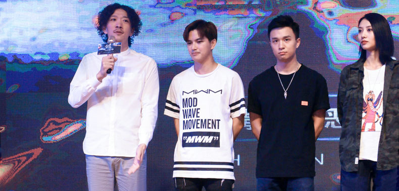 冯兵亮相电影《雷霆行动》发布会 塑造反派角色引期待