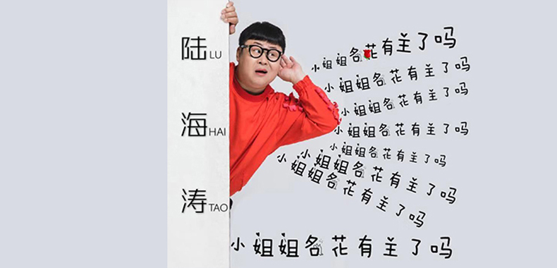 陆海涛《小姐姐名花有主了吗》新歌首播 大气洒脱