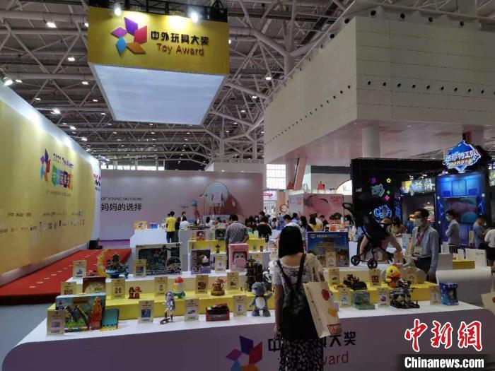 今年全球玩具业首个大型展会深圳开锣 逾1400展商参展 郭军 摄