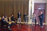 京沪社团组织办展创新对话现场