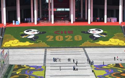 第三届中国国际进口博览会外景。经济日报-中国经济网记者 高兴贵摄_1.png