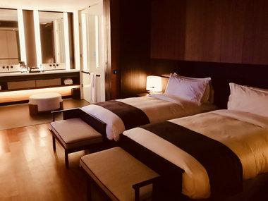 中国经济网资料图:酒店 床 睡眠 摄影付云鹏.jpg