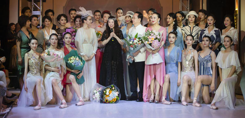 上海高定周开幕首秀 Grace Chen联袂陈钢、邱思婷艺术跨界震撼人心