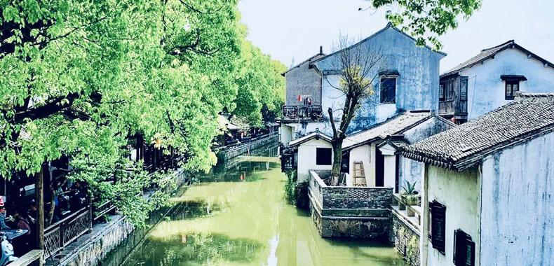 """如诗如画 探访上海周边6个""""充满烟火气""""的古镇"""