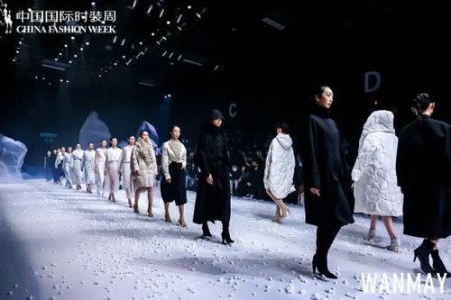 """科技赋能,""""羽""""众不同——WANMAY/张博AW21中国国际时装周闪耀发布"""