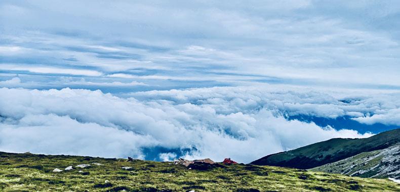 登五台 观云海