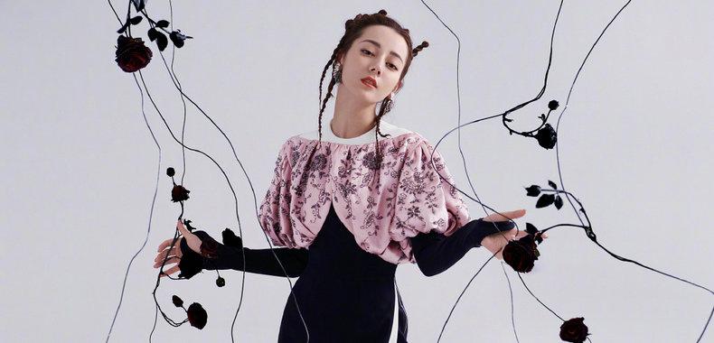 迪丽热巴《时装LOFFICIEL》封面大片曝光