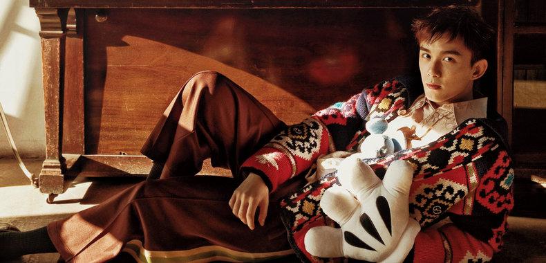 吴磊复古大片 在旧时光里游走的稚趣少年
