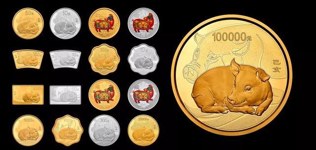 跨年吉祥物!探寻2019中国己亥(猪)年金银纪念币不寻常的美、不一般的中国风
