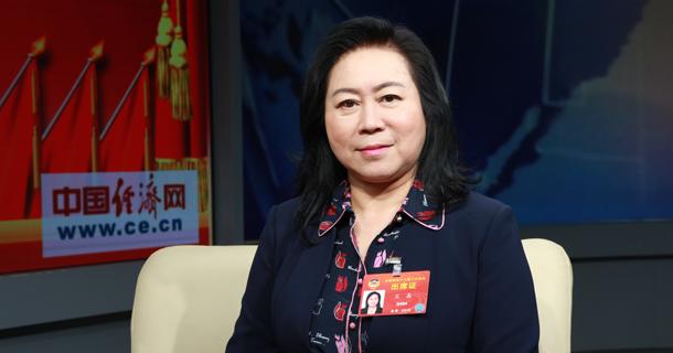 全国政协委员董事长王晶做客中国经济网