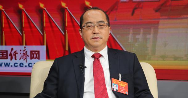 全国人大代表何光亮做客中国经济网