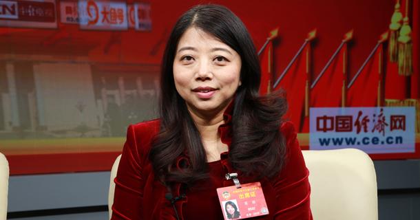 全国政协委员蒋颖做客中国经济网