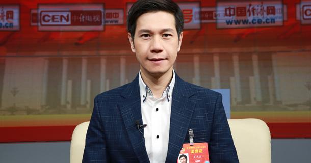 全国政协委员吴杰庄做客中国经济网