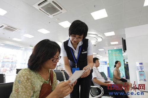 建设银行南通城中支行杨娅:温暖的服务