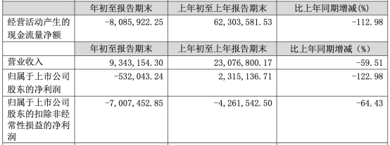 德新交运披露2020年第一季度业绩:营收连降6年 扣非后连续两年亏损