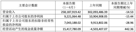 上海天洋上市3年半净利有2年半在下滑 中信证券保荐